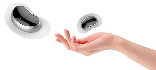1f0c65321b3dd0 Snore Circle EMS Pad Snore Stopper / スノアサークル EMS Padいびきストッパーは、特許取得の独自の音認識と骨伝導技術によって、睡眠中に起こるいびきを正確に  ...